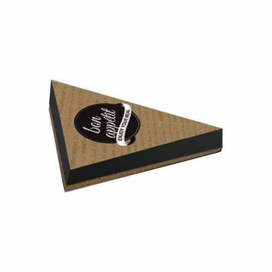 Κουτί ψητοπωλείου Bon Apetit 10kg Τρίγωνο Κρέπας 25Χ25Χ4cm (190τμχ)