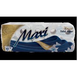 Maxi Deco Χαρτί Υγείας 10 ρολά 100 gr 3Φυλλο