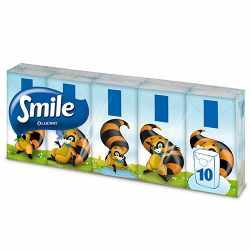 Smile Χαρτομάντιλα τσέπης 10τεμ x 3φ