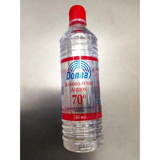 Αλκοολούχος Λοσιόν 70ο 240ml