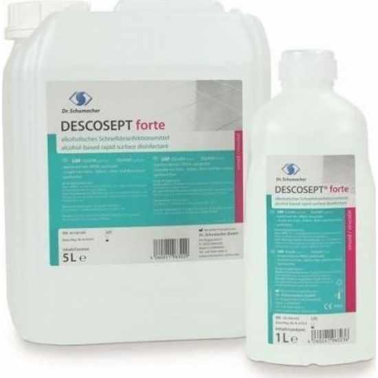 Descosept Forte Αλκοολούχο Υγρό Για Ταχεία Απολύμανση Επιφανειών  5000 ml